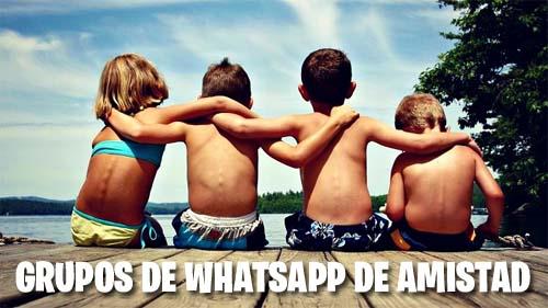 Grupos de WhatsApp de Amistad