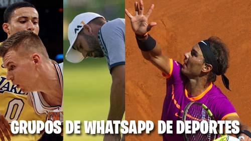 Grupos de WhatsApp de Deportes
