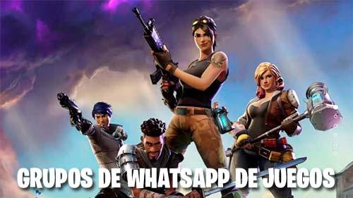 Grupos de WhatsApp de juegos