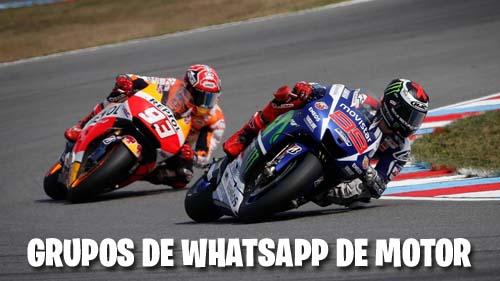 Grupos de WhatsApp de Motor