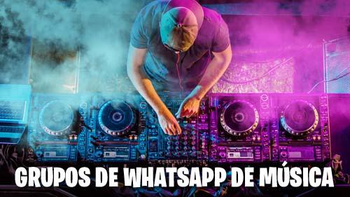 Grupos de WhatsApp de Música