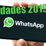 Novedades WhatsApp 2019