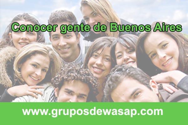 grupo de wasap para conocer gente de Buenos Aires