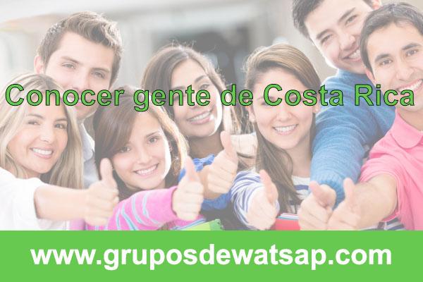 grupo de wasap para conocer gente de costa rica