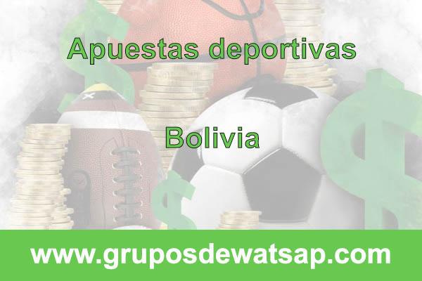 grupo de whatsap apuestas deportivas Bolivia
