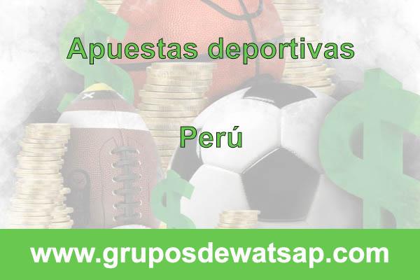 grupo de whatsap apuestas deportivas Perú
