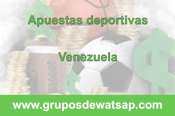 grupo de whatsap apuestas deportivas Venezuela