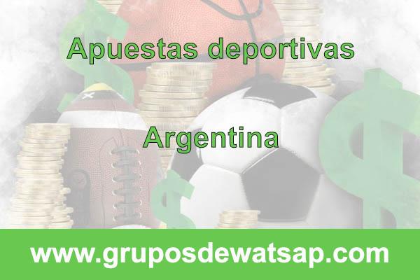 grupo de whatsap apuestas deportivas argentina