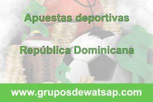 grupo de whatsap apuestas deportivas republica dominicana